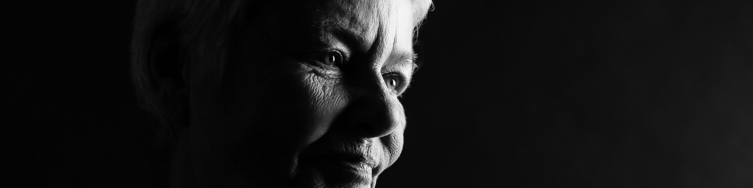 zwart wit portret Ilja Verstraten, herinneringsfotografie