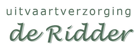 Logo-Uitvaartverzorging-de-Ridder-Terneuzen-samenwerking-met-Ilja-Verstraten-afscheidsfotografie-en-uitvaartfotografie